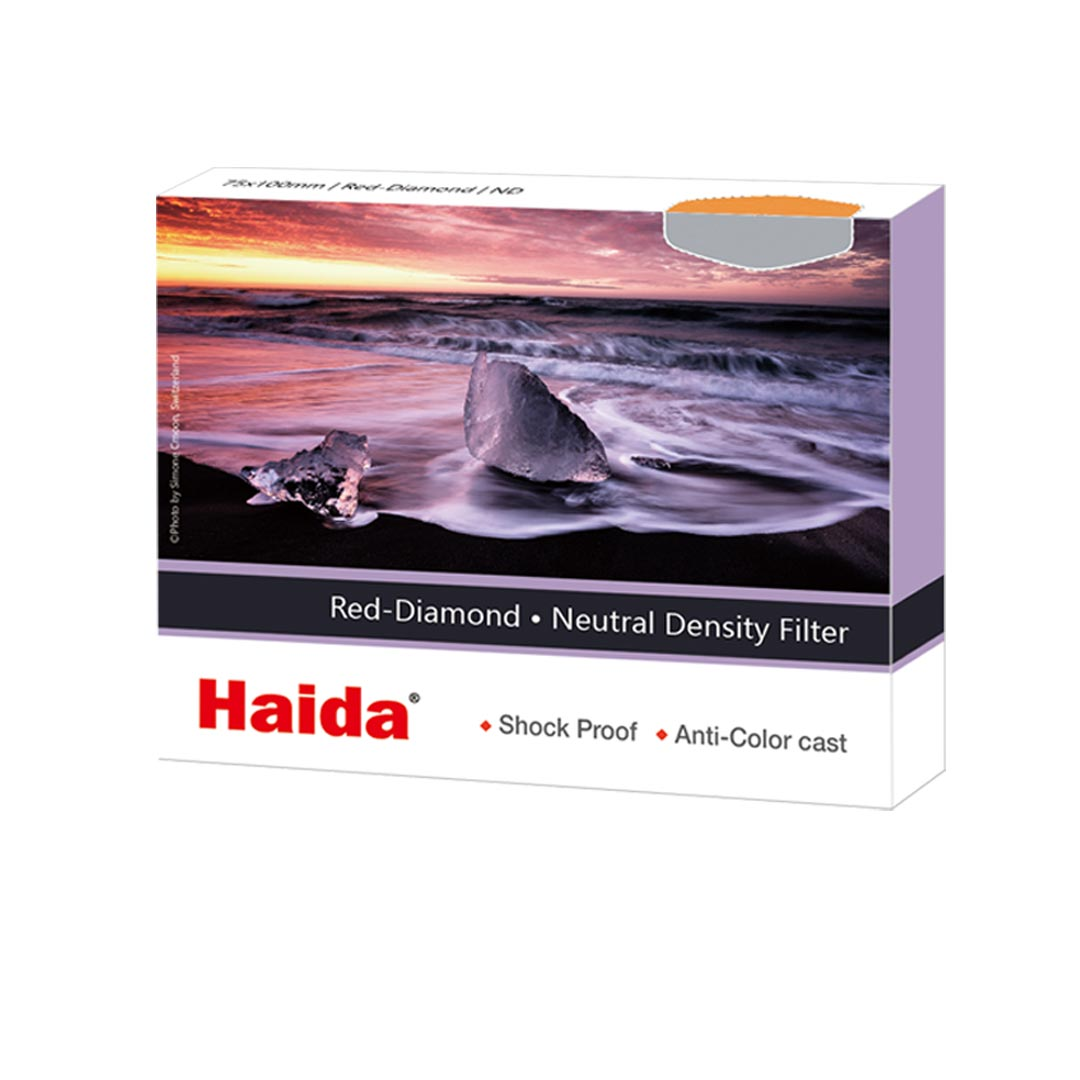 Filtr szary Haida Red Diamond ND1000 / ND 3.0 (75x100)