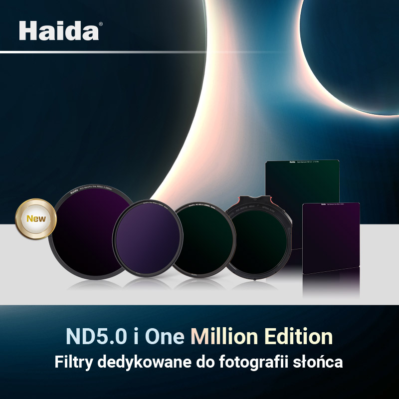 Filtr szary One Million X Haida NanoPro 82mm