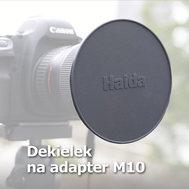 Pierścień (adapter) 55mm Haida M10
